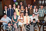 BASH: Neasa Ni Moran, Ballyard, Tralee (seated front centre) at her 21st birthday in The Grand Hotel on Friday evening, along with family and friends..