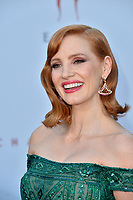 "LOS ANGELES, USA. August 27, 2019: Jessica Chastain at the premiere of ""IT Chapter Two"" at the Regency Village Theatre.<br /> Picture: Paul Smith/Featureflash"
