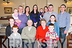 Birthday Party: Mary Kearney , Moyvane celebrating her birthday with family at the Listowel Arms Hotel on Sunday last.