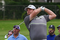 Tyrrell Hatton (ENG) watches his tee shot on 7 during round 1 of the 2019 Charles Schwab Challenge, Colonial Country Club, Ft. Worth, Texas,  USA. 5/23/2019.<br /> Picture: Golffile | Ken Murray<br /> <br /> All photo usage must carry mandatory copyright credit (© Golffile | Ken Murray)