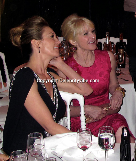 **EXCLUSIVE**.Diane Lane and Ellen Barkin..Wall Street: Money Never Sleeps Premiere Post Party - Inside..Cannes Film Festival..Villa in La Californie..Cannes, France..Friday, May 14, 2010..Photo By CelebrityVibe.com.To license this image please call (212) 410 5354; or Email: CelebrityVibe@gmail.com ; .website: www.CelebrityVibe.com.
