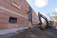 Major Renovation Litchfield Hall WCSU Danbury CT<br /> Connecticut State Project No: CF-RD-275<br /> Architect: OakPark Architects LLC  Contractor: Nosal Builders<br /> James R Anderson Photography New Haven CT photog.com<br /> Date of Photograph: 29 March 2017<br /> Camera View: 03 - North Elevation