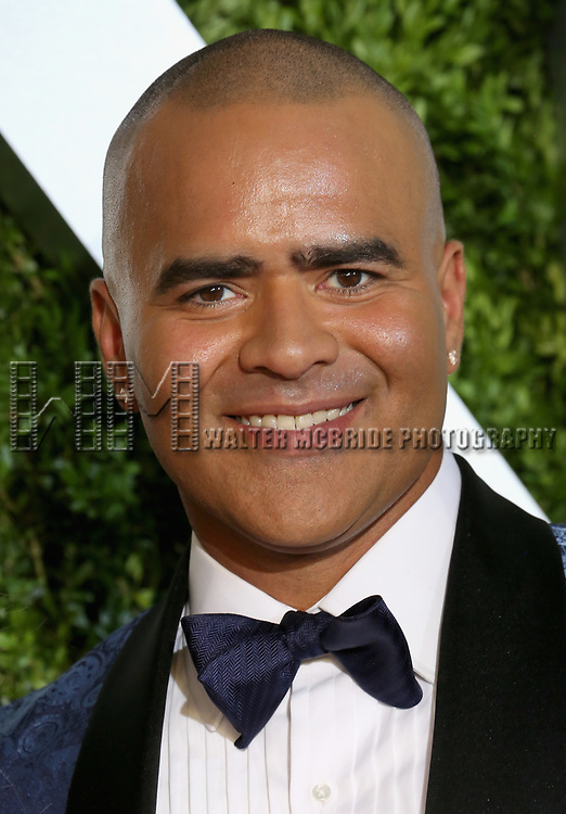 NEW YORK, NY - JUNE 11:  Christopher Jackson attends the 71st Annual Tony Awards at Radio City Music Hall on June 11, 2017 in New York City.  (Photo by Walter McBride/WireImage)