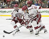 Colin Blackwell (Harvard - 63), Alexander Kerfoot (Harvard - 14), Brayden Jaw (Harvard - 10) - The Harvard University Crimson defeated the visiting Colgate University Raiders 7-4 (EN) on Saturday, February 20, 2016, at Bright-Landry Hockey Center in Boston, Massachusetts,
