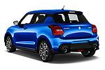Car pictures of rear three quarter view of a 2018 Suzuki Swift Sport Base 5 Door Hatchback angular rear