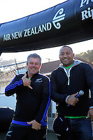 Pete Harold and Nua Finau. Day two of the 2016 Air NZ Rippa Rugby Championship at Wakefield Park, Wellington, New Zealand on Tuesday, 23 August 2016. Photo: Dave Lintott / lintottphoto.co.nz
