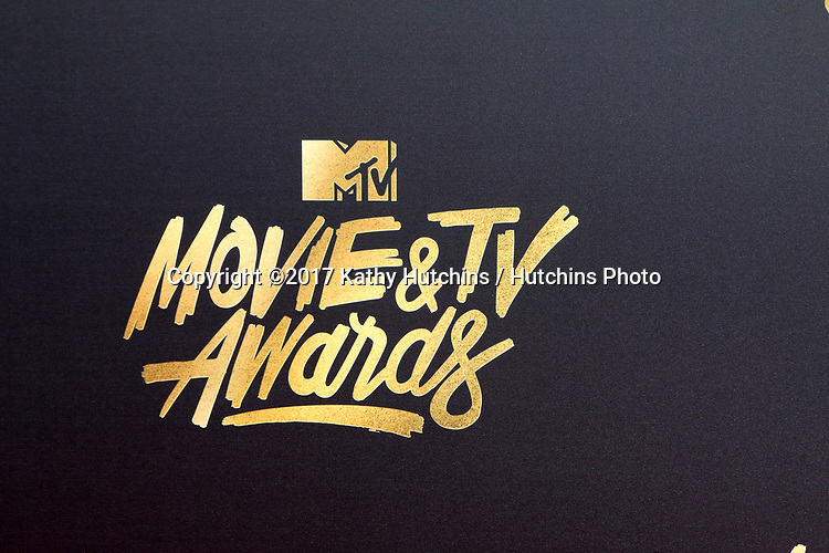 LOS ANGELES - MAY 7:  MTV Movie TV Awards, Logo, Atmosphere at the MTV Movie and Television Awards on the Shrine Auditorium on May 7, 2017 in Los Angeles, CA