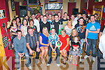Thomas O'Sullivan Currans seated centre who celebrated his 21st birthday with his family and friends in Hughes bar Cordal on Friday night..