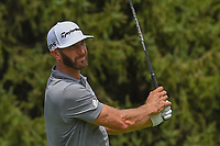 Dustin Johnson (USA) watches his tee shot on 4 during 1st round of the World Golf Championships - Bridgestone Invitational, at the Firestone Country Club, Akron, Ohio. 8/2/2018.<br /> Picture: Golffile | Ken Murray<br /> <br /> <br /> All photo usage must carry mandatory copyright credit (© Golffile | Ken Murray)