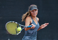 August 9, 2014, Netherlands, Rotterdam, TV Victoria, Tennis, National Junior Championships, NJK,  Perla Nieuwboer (NED) <br /> Photo: Tennisimages/Henk Koster