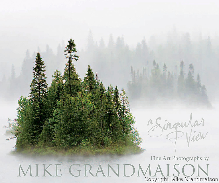 PRODUCT: Book<br /> TITLE: A Singular View<br /> CLIENT: Grandmaison Photography
