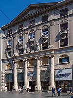 Museum Zepter, Fu&szlig;g&auml;ngerzone Knez Mihailova -Prinz-Michael-Stra&szlig;e, Belgrad, Serbien, Europa<br /> museum Zepter, pedestrian area Knez Mihailova, Belgrade, Serbia, Europe