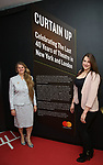 Bonnie Comley and Leah Lane visit Curtain Up: Celebrating the Last 40 Years of Theatre in New York and London Exhibition on June 14, 2017 at the New York Public Library for the Performing Arts at Lincoln Center.