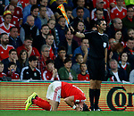 Gareth Bale of Wales holds his head following a tackle during the World Cup Qualifying Group D match at the Cardiff City Stadium, Cardiff. Picture date 2nd September 2017. Picture credit should read: Simon Bellis/Sportimage