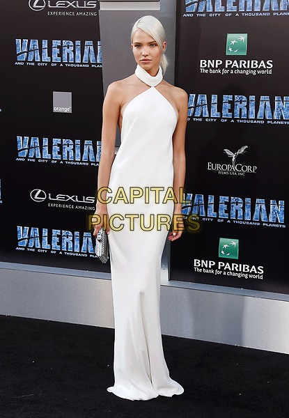 HOLLYWOOD, CA - JULY 17:  Model Sasha Luss arrives at the Premiere Of EuropaCorp And STX Entertainment's 'Valerian And The City Of A Thousand Planets' at TCL Chinese Theatre on July 17, 2017 in Hollywood, California.<br /> CAP/ROT/TM<br /> &copy;TM/ROT/Capital Pictures