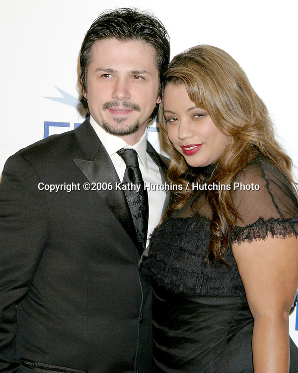 "Freddy Rodriguez  & wife.""Bobby"" Premiere  - AFI Opening Night.Grauman's Chinese Theater.Los Angeles, CA.November 1, 2006.©2006 Kathy Hutchins / Hutchins Photo...."