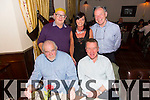 Con Gill, Conor Kavanagh, Michael Lawrence, Haley Rodgers, Jim Fitzgerald, friends enjoying a festive party at the Grand Hotel on Saturday