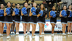 1-22-16, Skyline High School pompon in action