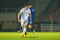 23rd November 2019; Caledonian Stadium, Inverness, Scotland; Scottish Championship Football, Inverness Caledonian Thistle versus Dundee Football Club; Cammy Kerr of Dundee races away from Aaron Doran of Inverness Caledonian Thistle  - Editorial Use
