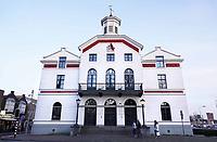 Nederland - Zaanstad - 2019. De Burcht in Zaandam. De Burcht was het voormalige raadhuis van Zaandam. Tegenwoordig is het een advocatenkantoor. Foto Berlinda van Dam / Hollandse Hoogte