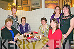 Belated Xmas Party: The staff of Moyvan & Knockanure national schools enjoying a belated christmas party at The Horseshoe Bar in Listowel on Friday night last. Breda Kiely, Anne Fitzmaurice, Anne Stack, Eileen Kennelly, Noreen Buckley, Mary B Curtin & Barbara McCarthy.