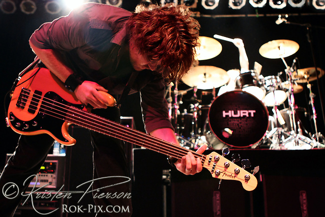 HURT band performing at The Webster Theatre in Hartford on October 12, 2007