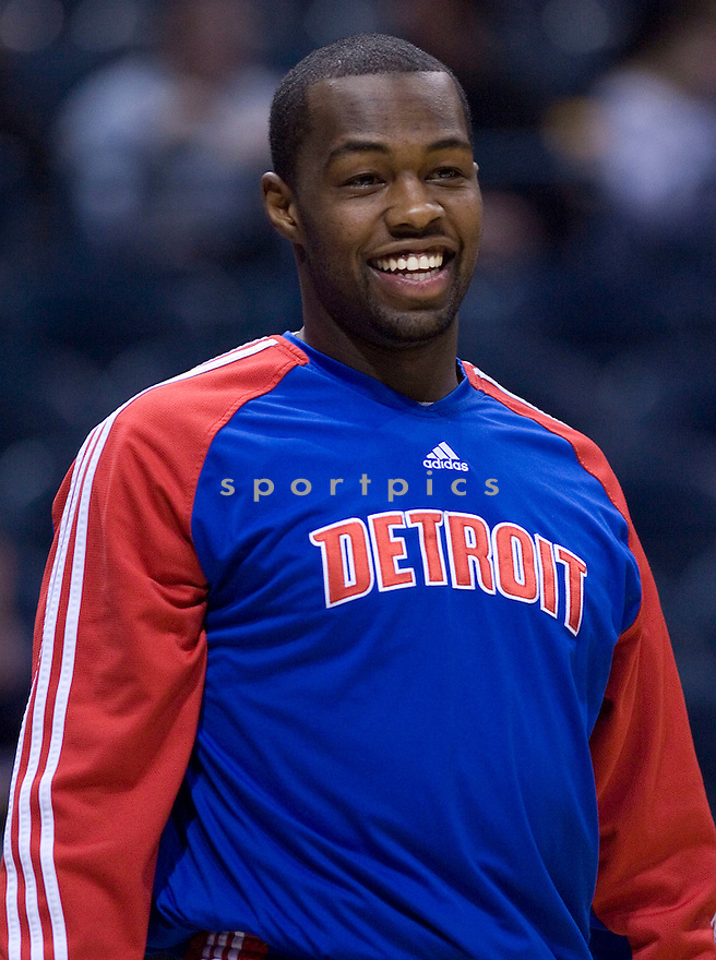 Rodney Stuckey.\.Milwaukee Bucks lost to the Detroit Pistons 81-93.