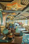 Star Princess cruise ship. Skytop lounge.