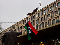 23.02.2011 - Libyan Protest Outside US Embassy