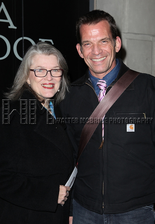 Cass Morgan & Frank Grillo attending the Broadway Opening Night Performance of 'Cat On A Hot Tin Roof' at the Richard Rodgers Theatre in New York City on 1/17/2013