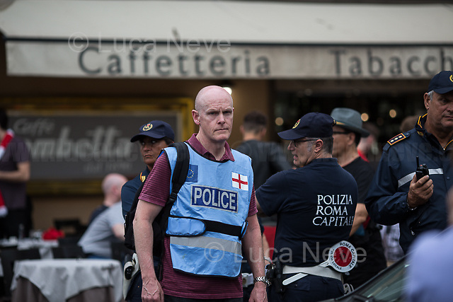 Merseyside Police's officers (British Police).<br />