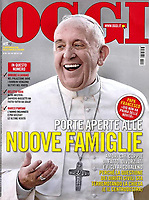 Pope Francis. Oggi Italian Magazine, <br /> Photo By Stefano Spaziani.