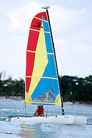 One of the many water sport at RIU Tropical Bay Hotel in Negril. Photo by Errol Anderson.