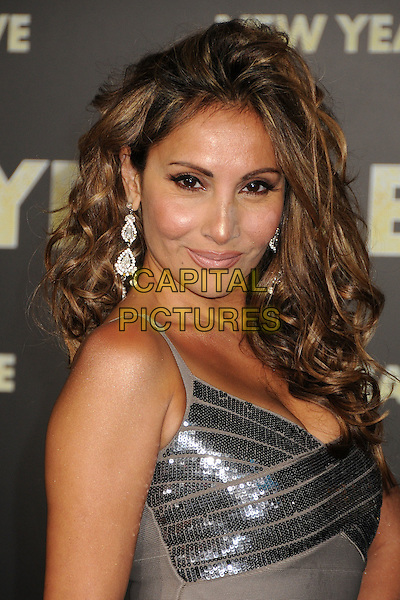 "Wedil David.The World Premiere of ""New Year's Eve' held at The Grauman's Chinese Theatre in Hollywood, California, USA..December 5th, 2011.headshot portrait silver sequins sequined .CAP/ADM/BP.©Byron Purvis/AdMedia/Capital Pictures."