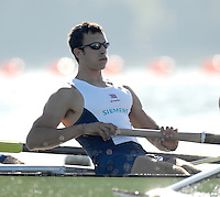 Caversham, Reading, GBR M8+, Tom LUCY , GB Rowing Team Training at Redgrave Pinsent Lake,  [Credit Peter Spurrier/Intersport Images]  [Mandatory Credit, Peter Spurier/ Intersport Images]. , Rowing course: GB Rowing Training Complex, Redgrave Pinsent Lake, Caversham, Reading