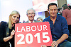 Ed Miliband <br /> Leader of the Labour Party <br /> Campaign Event at The Royal Horticultural Halls, 80 Vincent Square, London, SW1P 2PE<br /> 2nd May 2015 <br /> <br /> Ed Miliband MP <br /> Labour Leader <br /> General Election Campaign 2015 <br /> <br /> Michelle Collins <br /> Paul O'Grady <br /> Jason Isaacs<br /> Actor<br /> <br /> <br /> Photograph by Elliott Franks <br /> Image licensed to Elliott Franks Photography Services
