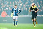 Stockholm 2014-04-16 Fotboll Allsvenskan Djurg&aring;rdens IF - AIK :  <br /> Djurg&aring;rdens Simon Tibbling ser deppig ut<br /> (Foto: Kenta J&ouml;nsson) Nyckelord:  Djurg&aring;rden DIF Tele2 Arena AIK depp besviken besvikelse sorg ledsen deppig nedst&auml;md uppgiven sad disappointment disappointed dejected