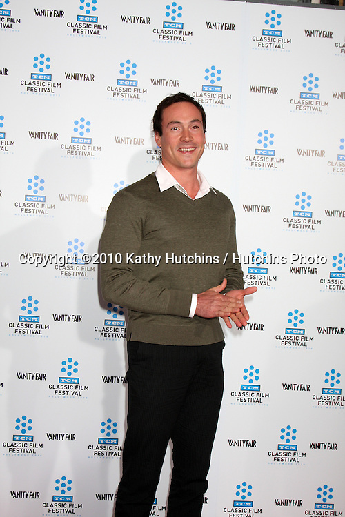 """.Chris Klein.arrives at the """"A Star is Born"""" Restored Print World Premiere , part of the Turner Classic Movie Channel Classic Movie Festival.Grauman'S Chinese.Los Angeles, CA.April 22, 2010.©2010 Kathy Hutchins / Hutchins Photo..."""