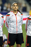24 October 2014: Alina Garciamendez (MEX). The United States Women's National Team played the Mexico Women's National Team at PPL Park in Chester, Pennsylvania in a 2014 CONCACAF Women's Championship semifinal game, which serves as a qualifying tournament for the 2015 FIFA Women's World Cup in Canada. The United States won the game 3-0. With the victory the U.S. advanced to the championship game and qualified for next year's Women's World Cup.