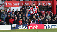 Bryan Mbeumo scores Brentford's second goal during Brentford vs Middlesbrough, Sky Bet EFL Championship Football at Griffin Park on 8th February 2020