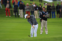 Rory McIlroy (NIR) on the 13th fairway during Round 2 of the 100th Open de France, played at Le Golf National, Guyancourt, Paris, France. 01/07/2016. <br /> Picture: Thos Caffrey | Golffile<br /> <br /> All photos usage must carry mandatory copyright credit   (&copy; Golffile | Thos Caffrey)