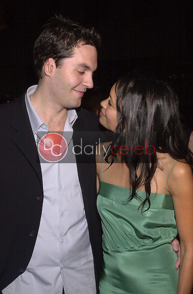 Thandie Newton and husband Oliver Parker