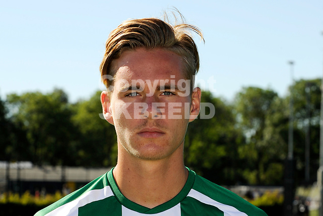 GRONINGEN - Presentatie FC Groningen o23, seizoen 2018-2019,   30-06-2018,  Tim Freriks