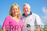 Jim O'Connor and Helen O'Connor at the Banna 10k Run on Sunday
