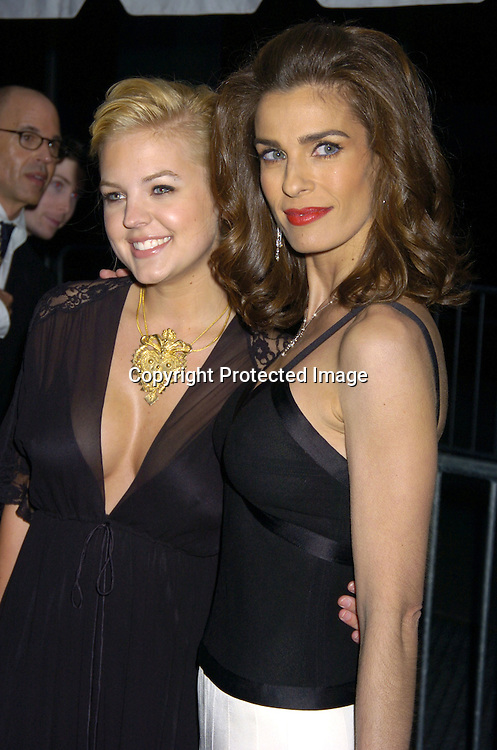 Kristin Storms and Christain Alfonso ..arriving at The 32nd Annual Daytime Emmy Awards ..at Radio City Music Hall on May 20, 2005...Photo by Robin Platzer, Twin Images
