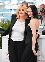 Emmanuelle Seigner &amp; Eva Green at the photocall for &quot;Based on a True Story&quot; at the 70th Festival de Cannes, Cannes, France. 27 May 2017<br /> Picture: Paul Smith/Featureflash/SilverHub 0208 004 5359 sales@silverhubmedia.com