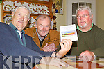 GONE FISHING: Ballyduff fishermen Thomas O'Sullivan, Moss Joe Browne and Packie Enright with their new DVD 'Bygone Fishing Days in Ballyduff'.