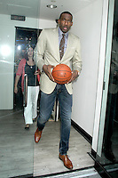 NEW YORK, NY - August 20, 2012: NY Knicks player Amar'e Stoudemire at Good Morning America Studios in New York City. August 20, 2012. &copy; RW/MediaPunch Inc. /NortePhoto.com<br />