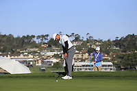 Julian Suri (USA) putts on the 6th green during Sunday's Final Round of the 2018 AT&amp;T Pebble Beach Pro-Am, held on Pebble Beach Golf Course, Monterey,  California, USA. 11th February 2018.<br /> Picture: Eoin Clarke | Golffile<br /> <br /> <br /> All photos usage must carry mandatory copyright credit (&copy; Golffile | Eoin Clarke)