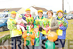 DAFFODILL: The daffodil lady's of ballybunion who with some of their grandchildren marched in the Ballybunion St Patrick's Day parade on Monday. Front l-r: Billy Byrne and Aaron Buckley. Back l-r: Mary and kate Horgan,Ann Fogarty,Mary Hartney,Kathleen Williams and Mary Walsh. ..   Copyright Kerry's Eye 2008